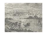 View of Warsaw Giclee Print by Bernardo Buontalenti