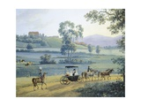 Rural Landscape, 1811 Giclee Print by Andres De Islas