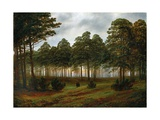 Evening, 1774-1840 Giclee Print by Caspar David Friedrich