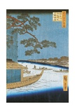 Pine of Success, Asakusa River in Edo, Pleasure Boat, 1797-1858 Giclee Print by Andrea Appiani