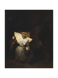 The Rosary, 1850 Giclee Print by Domenico Induno