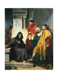 The Iconoclasts, 1855 Giclee Print by Domenico Morelli