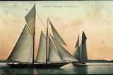 Yachten Hamburg Und Meteor, Segelboote, 2 Master Photographic Print