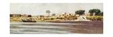 Egyptian Landscape Giclee Print by Carlo Marochetti