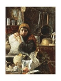The Miller's Daughter Giclee Print by Antonio Mancini