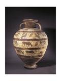 Italy, Lazio, Tarquinia, Etruscan-Corinthian Amphora Giclee Print by Ferdinand Jodl