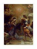 Annunciation Giclee Print by Alban Maria Johannes Berg