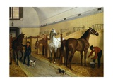 Stables, 1848 Giclee Print by Filippo Palizzi