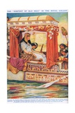 "The ""Serpent of the Nile"" in Her Galley Giclee Print by Arthur Claude Strachan"