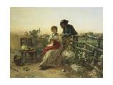 In Peacetime, Circa 1880 Giclee Print by Gerolamo Induno
