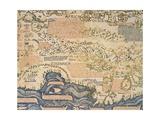 World Map, 1449, Detail: Northern Africa Reproduction procédé giclée par Camille Pissarro