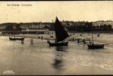 Zinnowitz, Partie Am Strande, Strandleben, Segelboot Photographic Print