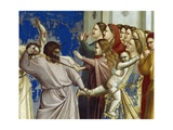 The Massacre of the Innocents, Detail from Life and Passion of Christ, 1303-1305 Giclee Print by  Giotto