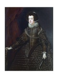 Portrait of Elisabeth of France, Queen of Spain as Isabella Giclee Print by Dirck Van Delen
