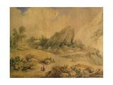 Landscape Giclee Print by Felice Giani