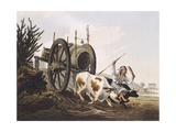 Water Wagon, Argentina 19th Century Giclee Print by Emile Bayard