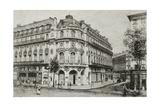 France, Paris, Vaudeville Theatre, 1868 Giclee Print by Agapit Stevens