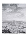Nimphenburg Castle and Nimphenburg Gardens, Germany 18th Century Giclée-Druck von Jacopo [giacomo] Vignola