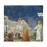 The Resurrection of Christ, Detail from Life and Passion of Christ Giclee Print by  Giotto di Bondone