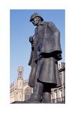 Statue of Sherlock Holmes Giclee Print by Gerbrandt Van Den Eeckhout