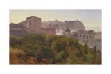 Francavilla Wood in Chiatamone, Circa 1824 Giclee Print by Anton Zampis