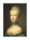 Portrait of Marie Antoinette Giclee Print by Jean-Baptiste Huet