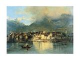 Pescarenico Giclee Print by Gerolamo Induno