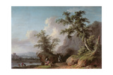 Landscape Giclee Print by Jacopo [giacomo] Vignola
