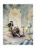 The Cello Lesson Giclee Print by Mose Bianchi