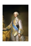 Portrait of Don Luis Antonio Jaime De Bourbon Giclee Print by Anton Raphael Mengs