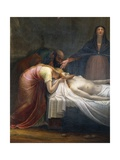 Lamentation over the Dead Christ, Detail, 1798-99 Giclee Print by Antonio Canova
