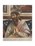 Bartholomew with Clasped Hands, Detail from the Last Supper, 1450 Giclee Print by Andrea Del Castagno