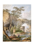 France, Versailles, from Views and Plans of the Petit Trianon at Versailles Giclee Print by Claudio Linati