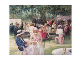 Henley Regatta Giclee Print by Paul Gribble