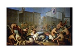 The Plague of 1630 Giclee Print by Luigi Vanvitelli