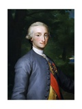 Portrait of Charles IV of Bourbon Giclee Print by Anton Raphael Mengs