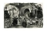 Faust, Act III, Scene II, Paris, 1859 Gicléetryck av Charles Haigh Wood