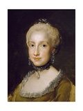 Portrait of the Infanta Maria Luisa of Bourbon Giclee Print by Anton Raphael Mengs