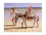A Leisurely Ride Giclee Print by Paul Gribble