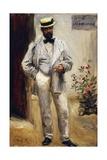 Portrait of Charles Le Coeur, 1874 Giclee Print by Pierre-Auguste Renoir