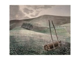 Downs in Winter Giclee Print by Eric Ravilious