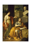Allegorical Portrait of James Caulfield, Lord Charlemont Giclee Print by Anton Raphael Mengs