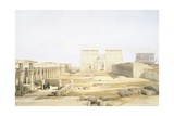Luxor Temple Giclee Print by David Roberts