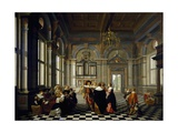 Musical Entertainment, 1632 Giclee Print by  Ditz