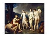 The Judgment of Paris Giclee Print by Anton Raphael Mengs