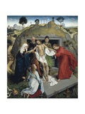 Deposition of Christ in the Tomb, Circa 1450 Giclee Print by Rosso Fiorentino