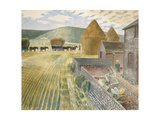 Furlongs Giclee Print by Eric Ravilious