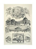 The National Exposition of Italian Industry and Commerce in Turin, April 26, 1884 Giclee Print by Antonio Canova