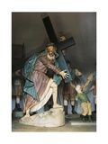 Christ Bearing Cross, 1800-1805 Giclee Print by Alessandro Algardi