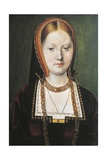 Portrait of Catherine of Aragon, Queen of England Giclee Print by Mingasson de Martinazeau
